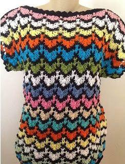 Blusa Colorida Em Trico Vitoria Quintal Blusas De Trico Trico