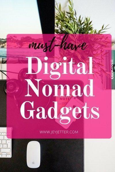 Best Digital Nomad Gadgets | Jey Jetter | The Digital Nomad Mom