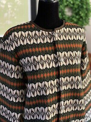 Vintage Jersey Modeller Hans Heitsch Cardigan Sweater Wool Elbow Patch Sweden M Ebay Vintage Sweaters Lambswool Sweater Sweaters For Women
