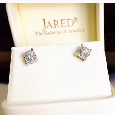1 2 Carat Diamond Earrings Beautiful From Jared Kay Jewelers Jewelry