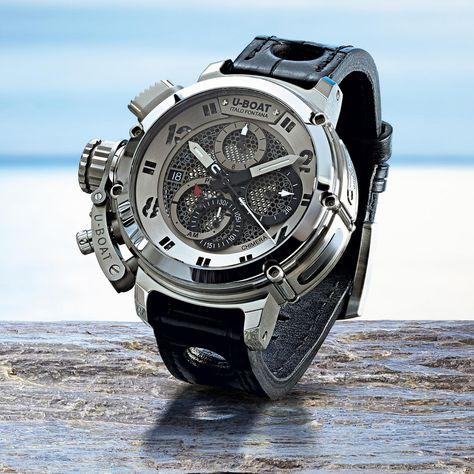 U-BOAT Chimera Net Tungsten Watch - DaVinci Emporium