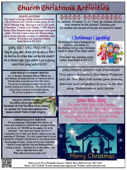 Church Christmas Program Activities Template Program Template Christmas Program Church Programs