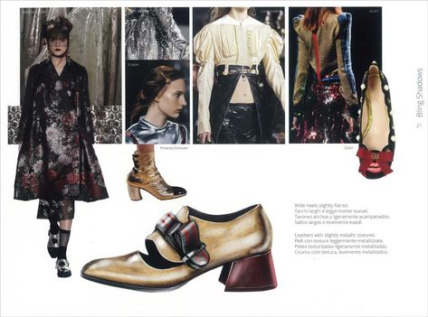 Shoes Trend Book A/W 2017/2018 by Veronica Solivellas | mode...information GmbH