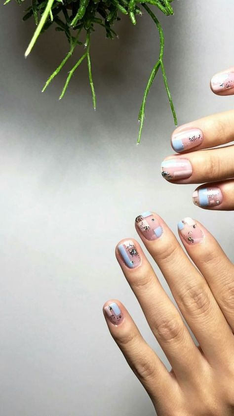Multi Coloured Nails: New Trend and Best Designs Here you can see some interesting colorful nail designs, you can try ❤ That is why we have gathered these multi colored nails ideas ❤ See more at LadyLife ❤