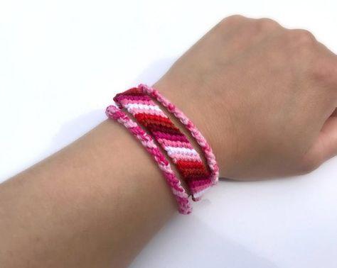 Agender Pride Hand Woven Anklet or Bracelet