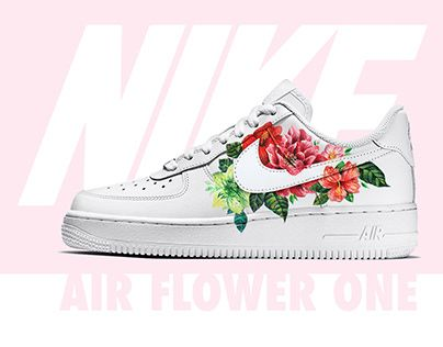 Custom Nike Air Flower 1 | Nike shoes
