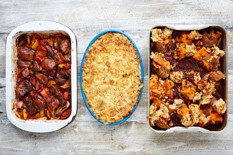 We've rounded up our favourite super simple traybakes and oven-baked dinners to see you through the hectic days