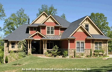 30 Best French Country Home Plans images | Country house plans ...  Buckland House Plan Tour on