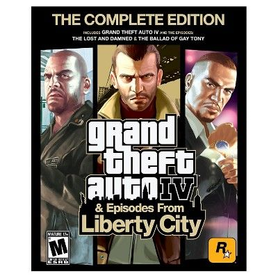 Grand Theft Auto Iv And Episodes From Liberty City Pc Game