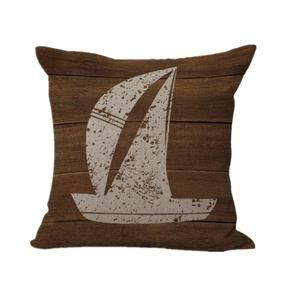 US SELLER sailor boats anchor marine cushion cover decorative pillow covers