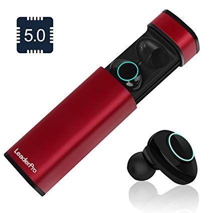 In-Ear Kopfhörer Bluetooth 5.0 Kabellos TWS Stereo Ohrhörer mit Mic /& Ladebox