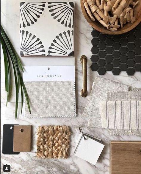 Moodboard Interior, Estilo Interior, Material Board, Interior Design Boards, Style Deco, Colour Board, Colour Schemes, Color Trends, Interior Color Schemes
