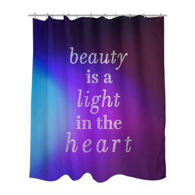 East Urban Home Multicolor Background Beauty Inspirational Quote