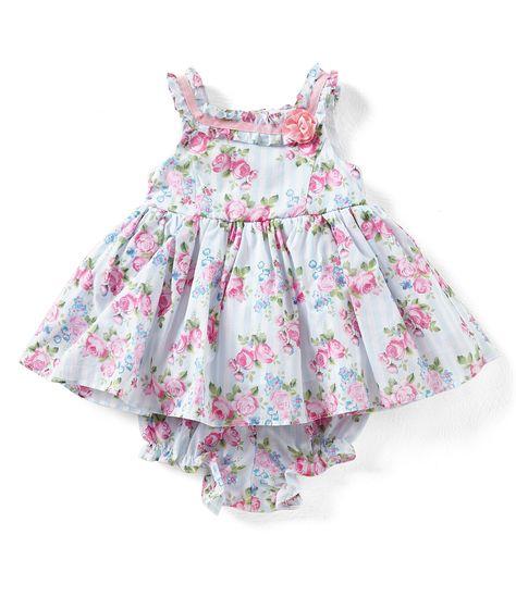 3afeba967c Shop for Laura Ashley London Baby Girls Newborn-24 Months Sleeveless Floral-Print  Dress