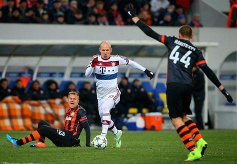 Blog Esportivo do Suíço:  Liga dos Campeões - Oitavas de final: Bayern e Shakhtar ficam no 0 a 0