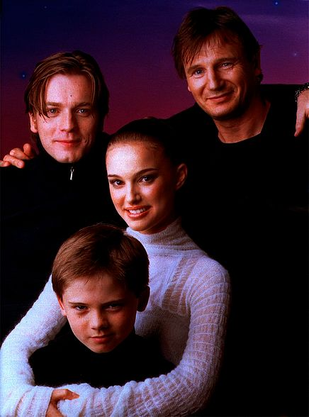 Episode I Cast Oh my God! My boy is the spitting image of Jake Lloyd in this picture... Does that make me the father of a potential Sith Lord??!! I'm so proud