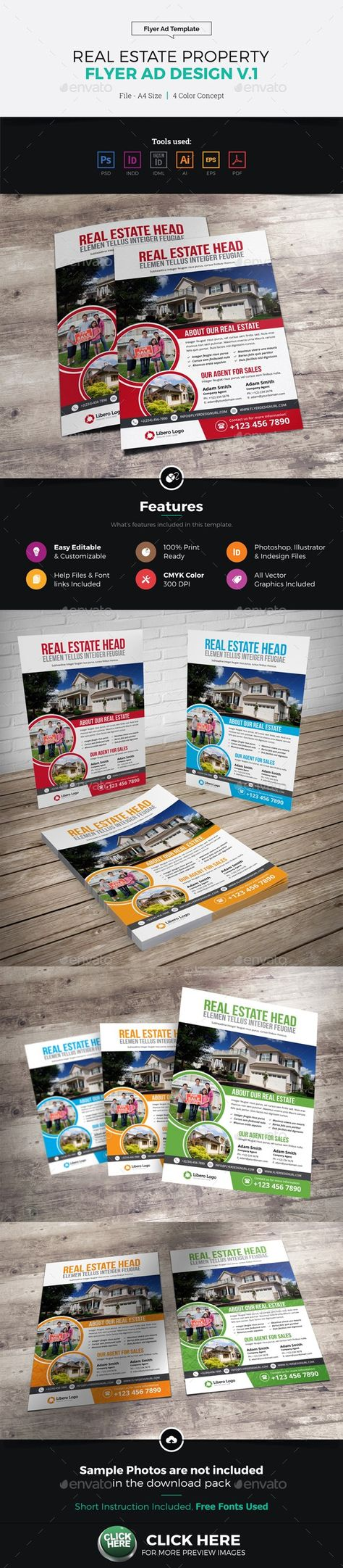 list of pinterest landing page template business real estates