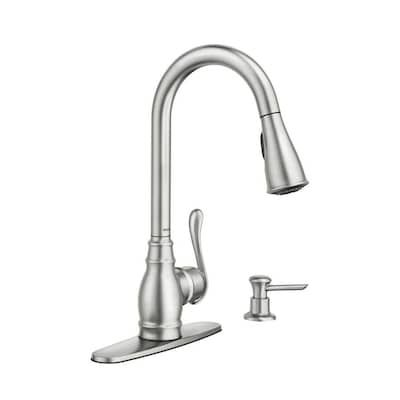 Lowes 169 In 2020 Moen Kitchen Faucet Kitchen Faucet With