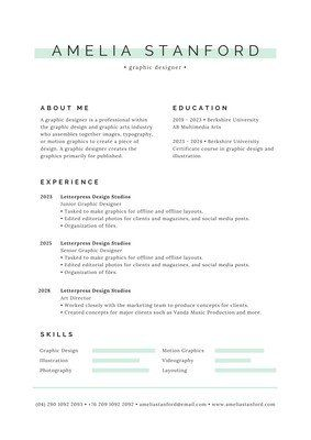 Free Beautiful Modern Resume Templates To Customize Canva Minimalist Resume Minimalist Resume Template Resume Design Template