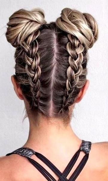Braided Hairstyles Youtube Braided Hairstyles For White Girls Braided Hairsty En 2020 Coiffure Coiffure Tresse Coiffure Facile