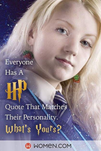 Everyone Has A Hp Quote That Matches Their Personality