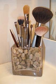 Tschüß Pinsel-Chaos im Badezimmer! Make-up-Pinsel-Halter