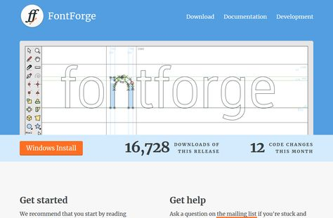 Font Forge Is A Native Linux Program That Has Been Ported To A Variety Of Other Oses Platforms It I Open Source Fonts Computer Software Font Editor