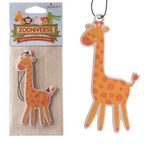 AIRF21 - Deodorante per Auto - Giraffa (Banana) | Puckator IT - #wildlife #home #accessories #zoo #DeodoranteAuto