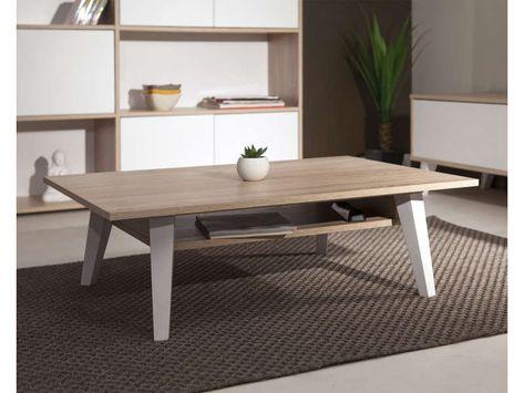 Table Basse Coloris Chene Naturel Vente De Table Basse Conforama Table Basse Salon Table Basse Bois Et Table Basse