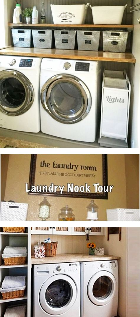 Laundry Nook Ideas We Love Laundry Nook Laundry Room Apartment