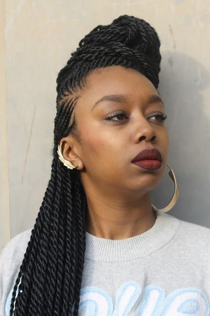 Coiffure Africaine Nice Cheuveux De L Automne Hiver 2018 2019 Coiffure Coiffureafricaine2017 Coiffureafri Natural Hair Styles Curly Hair Styles Hairstyle