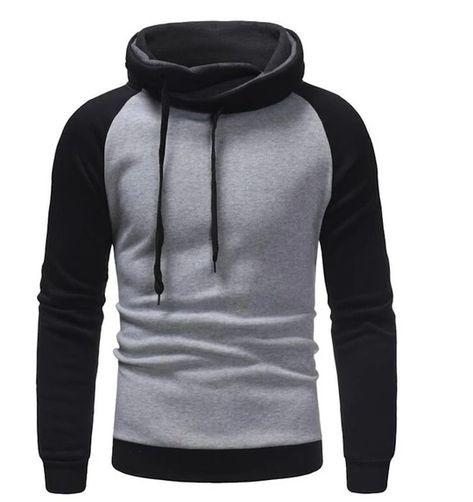 Hoodies Men Turtleneck Pullover Sweatshirt Slim Fit Men Sportswear