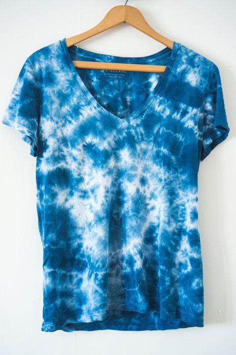 Batik Selber Machen Diy T Shirt Batiken 7