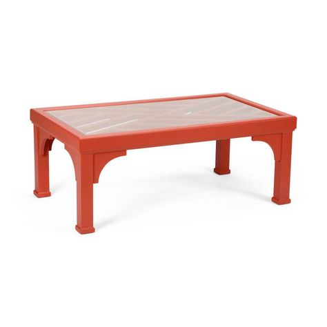 Tidewater Collection Bolton Coffee Table Painted Wood Tail With Beveled Gl Top In A Variety Of Colors To Suit Any Style