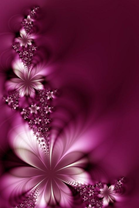 3D Abstract Flower Wallpaper iPhone - Best iPhone Wallpaper