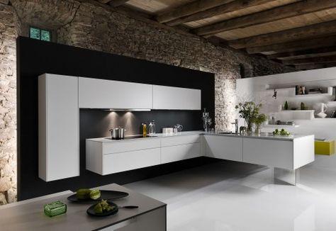 101 best office images on Pinterest Architecture, Dark walls and - lösungen für kleine küchen
