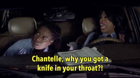 """When someone stabbed """"Chantelle"""" and Niecy Nash had this reaction."""