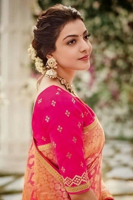Kajal Aggarwal Readymade Blouse Blouse Designs Most Beautiful Indian Actress