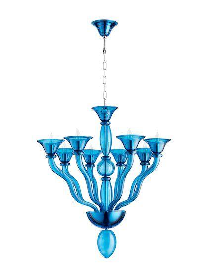 Phantasm Chandelier By Cyan Design At Gilt Blue Chandelier Cyan Design Candle Styling