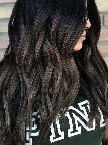 13 Hair Color Ideas For Brunettes Brunette Hair Color Hair Color For Black Hair Hair Color Dark