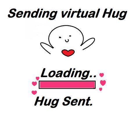 Omar Kuddus On Twitter Sending A Virtual Hug Powerofahug Lgbtq 451x400 Jpeg Funny Thank You Quotes Cute Love Memes Hug Meme