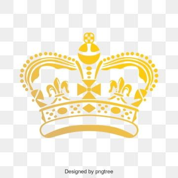 Simple Golden Crown Elements Of The Queens Royal Family Png And Vector Crown Png Crown Royal Luxury Logo Design
