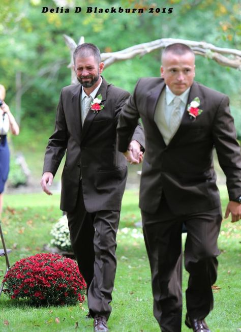Father Stops His Daughter's Wedding to Have Stepdad Walk Bride Down the Aisle With Him  - CountryLiving.com