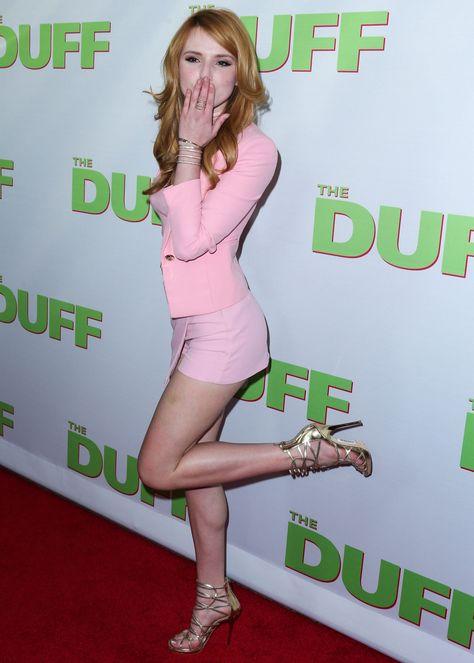 http://youngerhollywood.tumblr.com/post/123775611655-Bella Thorne red carpet skirt legs thighs ass