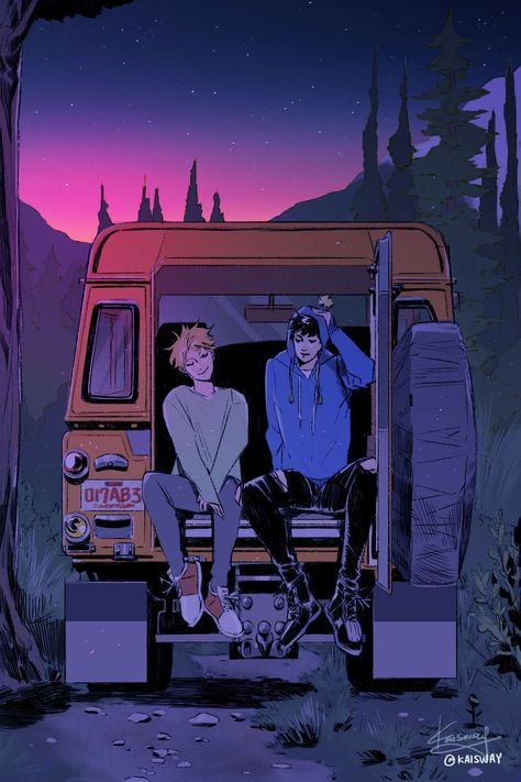 Tweek and Craig as teenagers are so cute /////// South Park - Creek South Park Anime, South Park Fanart, Gay Aesthetic, Aesthetic Anime, Amazing Drawings, Cute Drawings, Psychedelic Art, Character Inspiration, Character Art