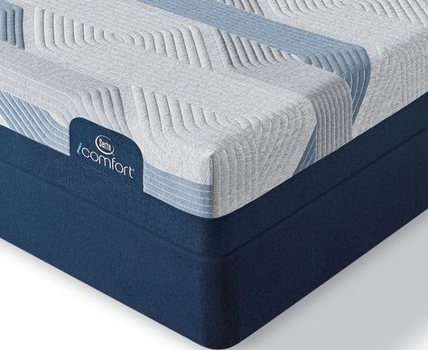Serta I Comfort By Blue 100ct 9 75 Gentle Firm Mattress Set