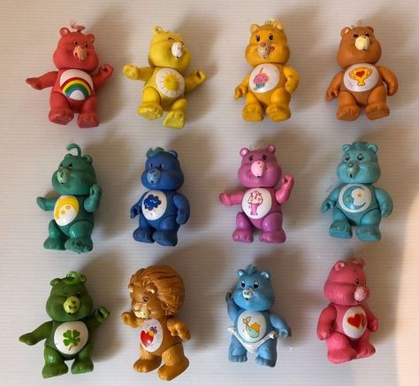 Kenner Care Bear Poseable Figures figurines Bisounours loose 1982
