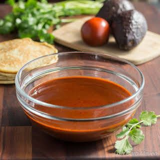 Easy Low Carb Red Enchilada Sauce Recipe Low Carb Sauces
