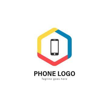 الهواتف الذكية الهواتف الذكية شعار قوالب تصميم الشعار مع إطار الحديث Phone Logo Logo Templates Template Design