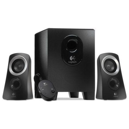 Logitech Z313 Multimedia Speaker System Walmart Com Logitech Speaker System Logitech Speakers